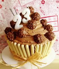 jo u0027s blue aga ferrero rocher giant cupcake
