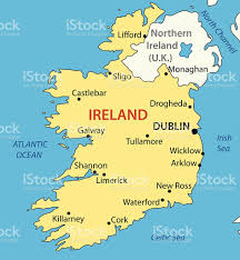 Map Of Ireland And England by Republic Of Ireland Vector Map Stock Vector Art 472227544 Istock