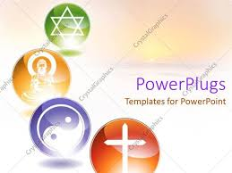 templates powerpoint crystalgraphics powerpoint template four multi coloured circular tiles showing