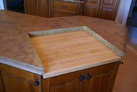 kitchen island with cutting board kitchen concrete countertop concrete countertops design gallery