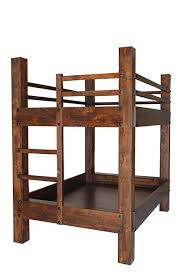 Build Your Own Wood Bunk Beds by Best 20 Rustic Bunk Beds Ideas On Pinterest Rustic Kids Bedding