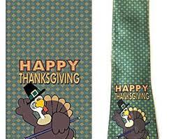 thanksgiving tie etsy