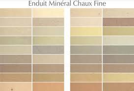 nuancier de couleurs peinture chaux brossée à lyon 69