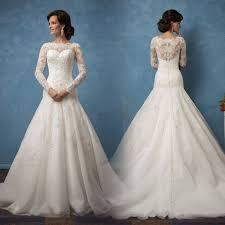 lace wedding dresses uk vintage sleeve lace wedding dresses mermaid button back