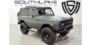 ford bronco 1974 ford bronco restoration on ebay ford authority