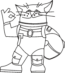 astronaut coloring page cat coloring page cartoon astronaut cat