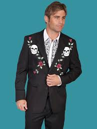 flames western men s suit jacket pictures to pin on pinterest