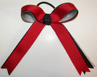 ribbon for hair that says gymnastics gymnastic bows top notch boutique accessories inc