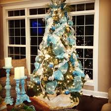 Blue Christmas Tree Decorations by The Most Colorful And Sweet Christmas Trees And Decorations You