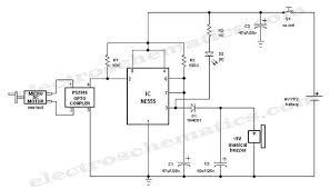 crank doorbell circuit schematic