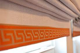 orange and white office