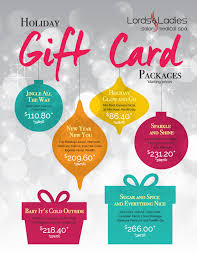 salon gift cards gift card season is here gift a great salon spa package