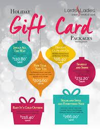 salon gift card gift card season is here gift a great salon spa