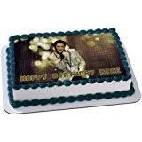 elvis cake topper elvis 1 4 sheet edible photo birthday cake topper