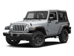 base model jeep wrangler price 2017 jeep wrangler prices nadaguides