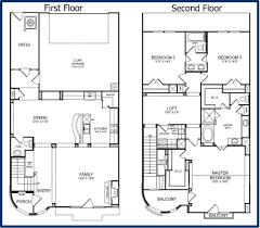floor plans 2 story ahscgs com