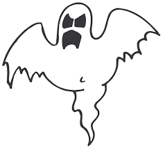 halloween ghost coloring pages 001 clip art library