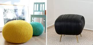 Pouf Ottomans What S The Difference Between A Pouf And An Ottoman Contemporist