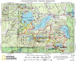 Pratt Map Trail Maps Story Of The Yawgoog Trails