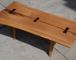 Oak Slab Table by Oak Slabs Etsy