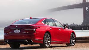 red lexus 2018 2018 lexus ls 500 f sport design in matador red youtube