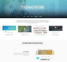 25 best resume cv wordpress themes 2017