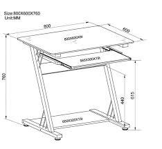 hauteur standard bureau ordinateur bureau informatique richy pour bureau dimension nedodelok