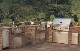 outdoor kitchen backsplash modular outdoor kitchen frames floral pattern tile backsplash gray