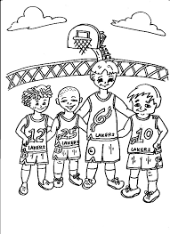 lakers coloring pages basketball teams coloring pages getcoloringpages com