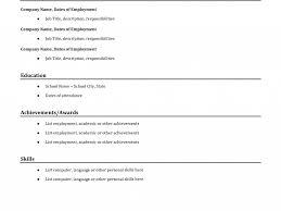 Example Of A Basic Resume by Excellent Sample Basic Resume Impressive Resume Cv Cover Letter
