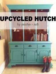 kitchen hutch furniture upcycled hutch u2014 peaches salt