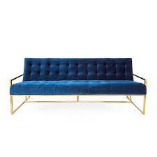 seat sofas goldfinger three seat sofa modern furniture jonathan adler