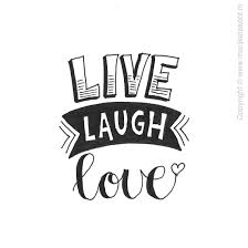 Live Love Laugh Home Decor Live Love Laugh Typography Calligraphy Pinterest Real Big