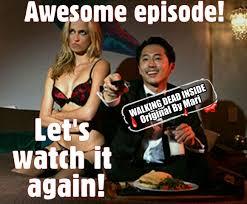 Glenn Walking Dead Meme - the walking dead memes steven yeun glenn rhee stevenyeun