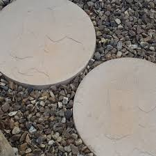 Round Patio Pavers by Decor Attractive And Incredibly Durable With Slate Stepping