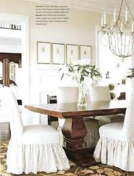 Slipcover For Dining Room Chairs White Chair Slipcovers 8libre