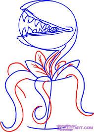 draw venus flytrap step step stuff pop culture