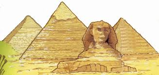 ancient clipart pyramid giza pencil and in color ancient clipart