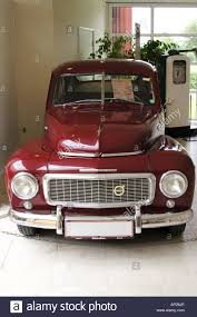 classic volvo sedan classic volvo 544 motor car in a museum in jutland denmark stock