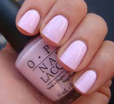 mod about you opi you can never go wrong with a soft pink nail