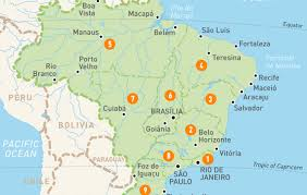 map of brazil map of brazil brazil regions guides guides