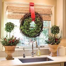 window wreaths windows hanging wreaths on windows designs dont forget the kitchen