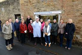 bid farewell teesdale mercury villagers bid farewell to butcher after 25