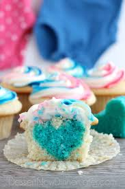 gender reveal cupcakes dessert now dinner later