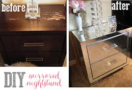 Mirrored Dressers And Nightstands Best 25 Mirrored Nightstand Ideas On Pinterest Mirror Furniture