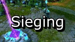 what is the meaning of siege sieging how to siege and how to defend against a siege league