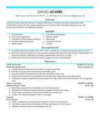 Examples Of Strong Resumes by Unforgettable Sales Associate Resume Examples To Stand Out