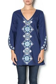 mud pie safia embroidered tunic from florida by the stable home