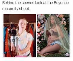 Maternity Memes - behind the scenes look at the beyoncé maternity shoot meme on me me