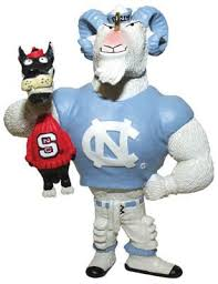 lester single choke rivalry ornament unc tarheels